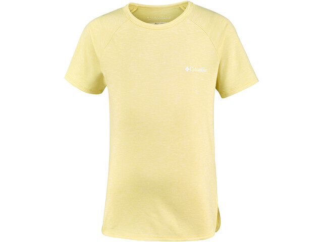 Columbia Silver Ridge II Camiseta de manga corta Niñas, sunnyside heather